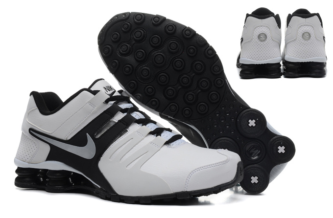 Nike Shox Current Shoes White Grey Black