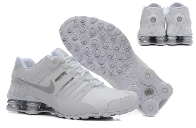 Nike Shox Current Shoes White Grey