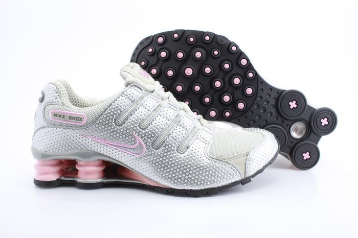 9ca70a315f9 Nike Shox NZ Grey Silver Pink For Women
