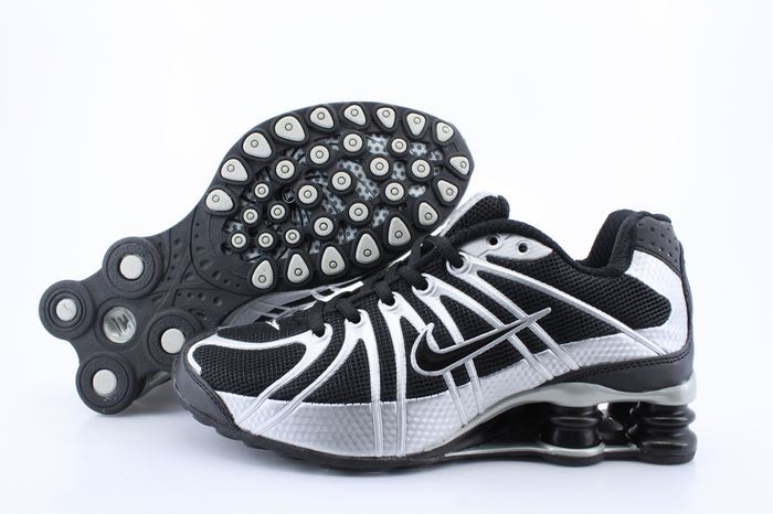 Women Nike Shox OZ Black Silver Shoes