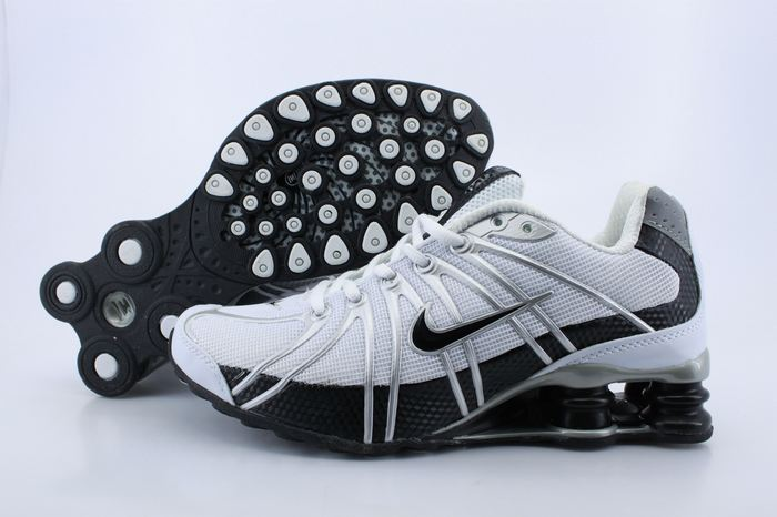 Women Nike Shox OZ White Black Shoes