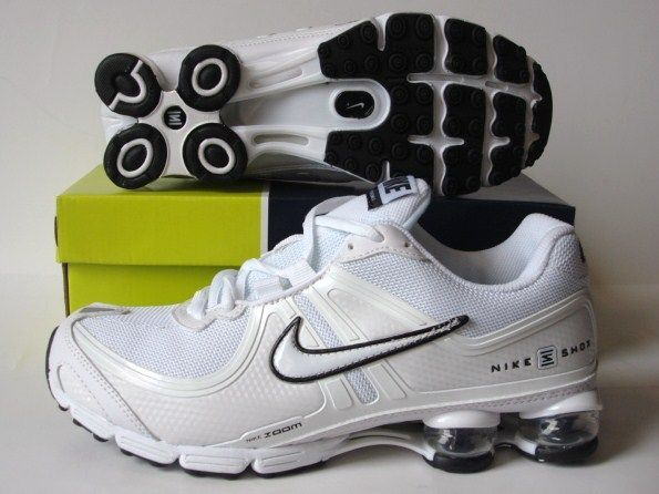 Stylish Shox R2 White Shoes