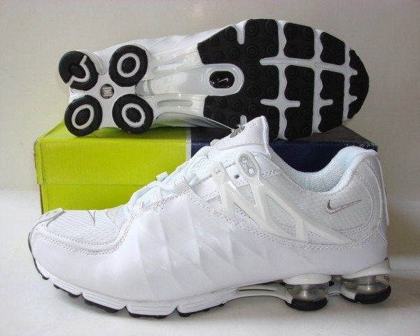 Stylish Shox R3 All White Shoes
