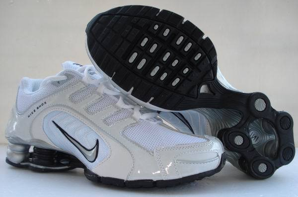 Nike Shox R5 All White Sport Shoes