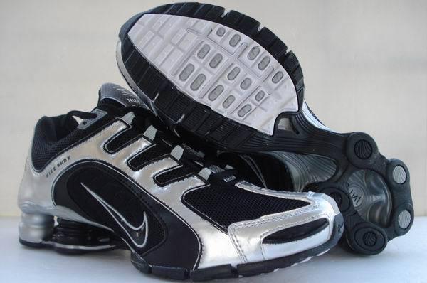Nike Shox R5 Silver Black Sport Shoes