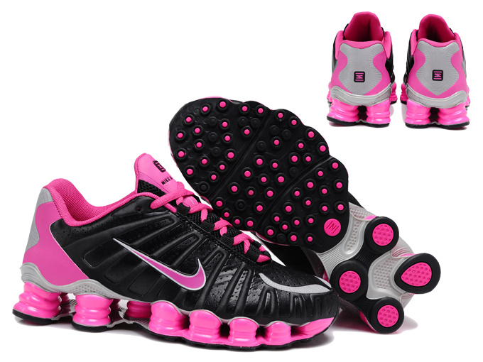 Women Shox TL3 Black Pink Shoes