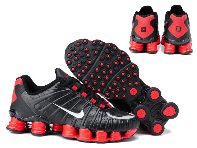Nike Shox TL3 Shoes Black Red