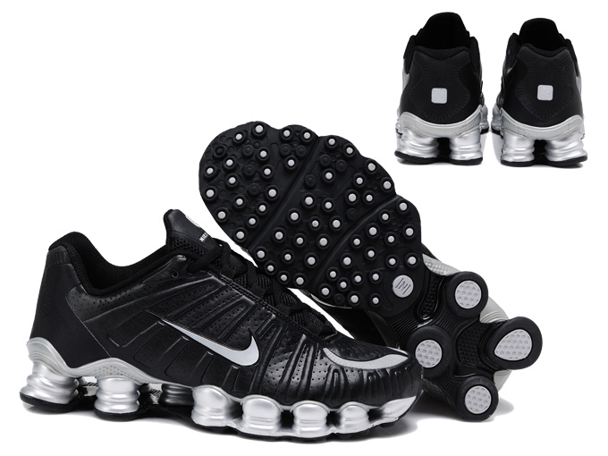Nike Shox TL3 Shoes Black Silver