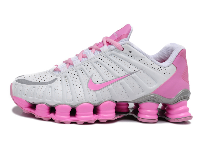 Women Shox TL3 Grey Pink Shoes