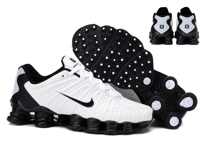 Nike Shox TL3 Shoes White Black