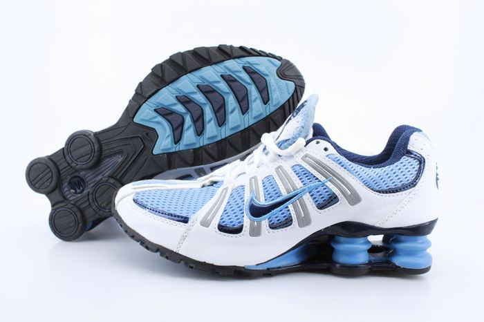 Women Shox Turb White Blue Black For Women