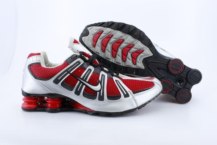 Nike Shox Turbo Shoes White Red Black