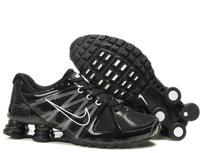 Nike Shox Turbo 2 Shoes All Black