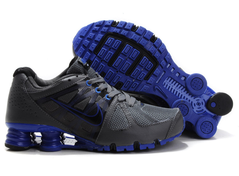 Nike Shox Turbo 2 Shoes Black Blue