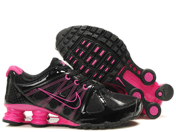 Nike Shox Turbo 2 Shoes Black Pink