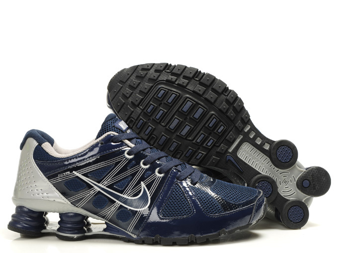 Nike Shox Turbo 2 Shoes Blue Grey