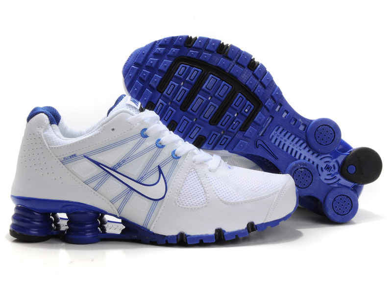 Nike Shox Turbo 2 Shoes White Blue