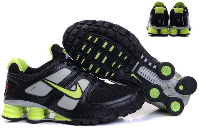 Nike Shox Turbo Shoes White Grey Green Air Cushion