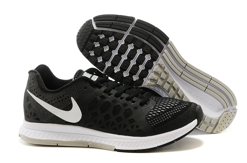 Nike Zoom Pegasus 31 Black White Running Shoes