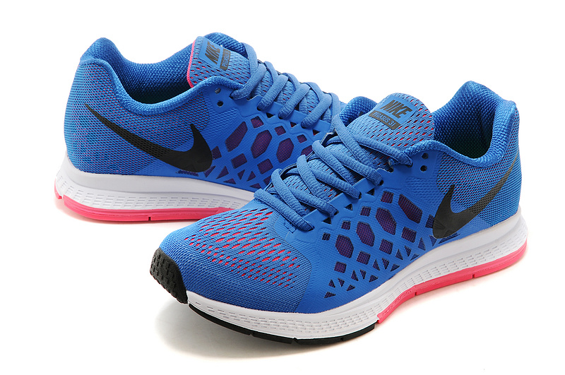 Nike Zoom Pegasus 31 Blue Black Running Shoes