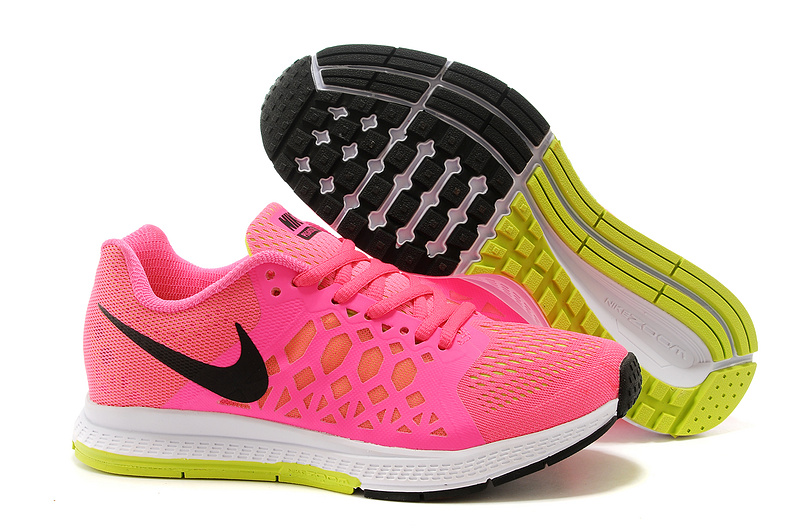 Nike Zoom Pegasus 31 Pink Black White Running Shoes For Women