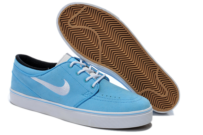 Nike Zoom Stefan Low Baby Blue White Shoes