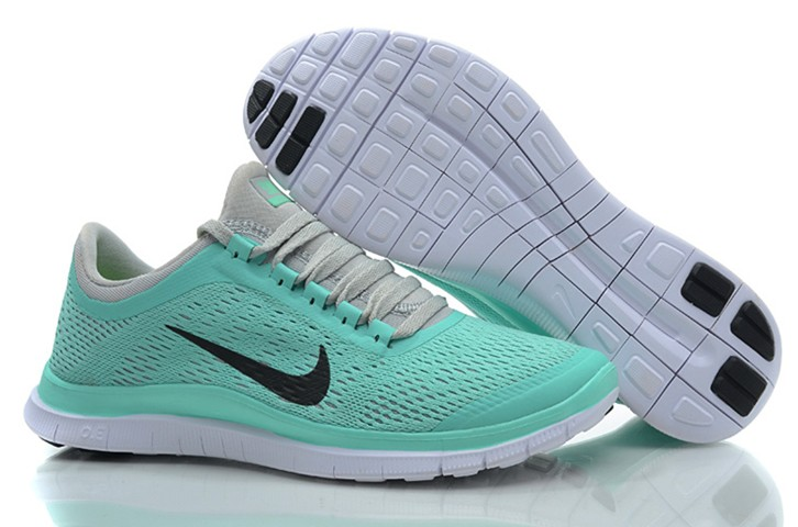 Baby Blue Nikes Free 3.0 V5 EXT Running Shoes