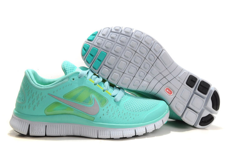 Baby Blue Nikes Free Run 3 5.0 Limited