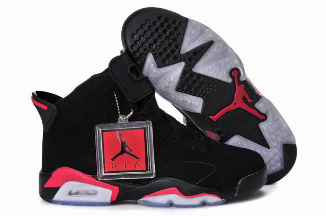 Women Air Jordan 6 Black Infrared
