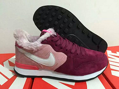 Women Nike 2015 Archive Wool Pink Purple Shoes