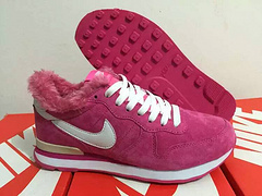 Women Nike 2015 Archive Wool Pink Shoes