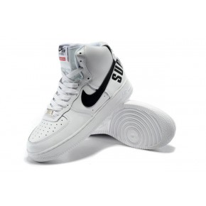 Women Nike Air Force 1 High White Shoes