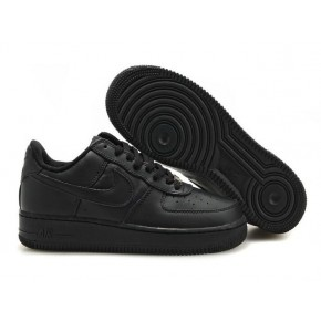 Women Nike Air Force 1 Low All Black Shoes