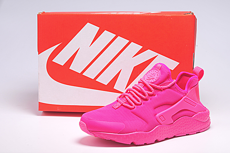 Women Nike Air Huarache 3 All Pink Shoes