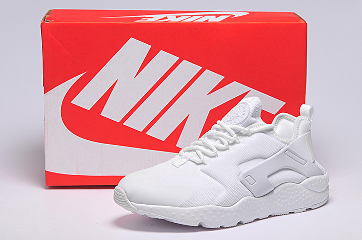 Women Nike Air Huarache 3 All White Shoes