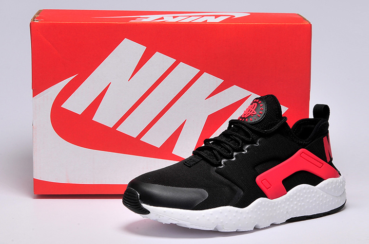 Women Nike Air Huarache 3 Black Red White Shoes