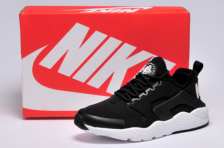 Women Nike Air Huarache 3 Black White Lover Shoes