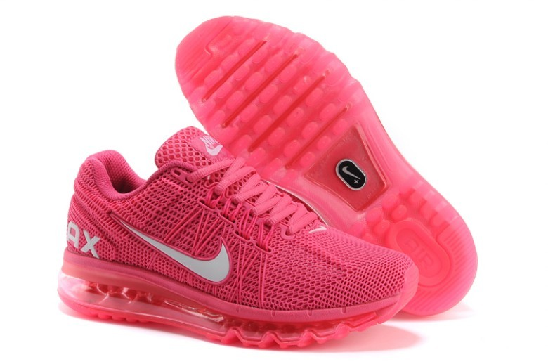 Women Nike Air Max 2013 All Pink Shoes