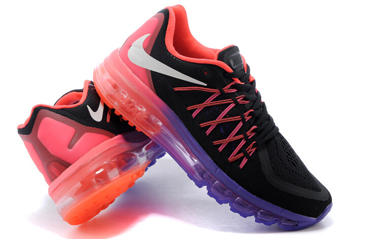 Cool Nike Air Max 2015 Women39s Running Shoes  698903004  BlackWhite