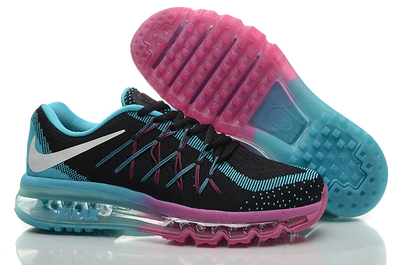 Brilliant  Nike Air Max 2015 Gt Nike Air Max 2015 Shoes For Women Deep Blue Green