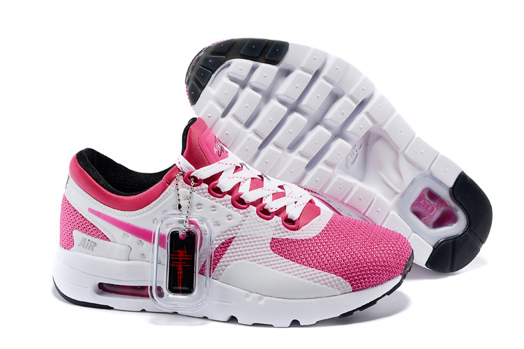 Women Nike Air Max Zero 87 II Red White Shoes