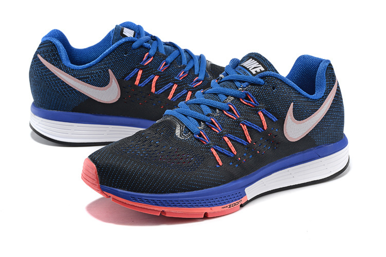 Women Nike Air Zoom Vomero 10 Black Blue Red Shoes