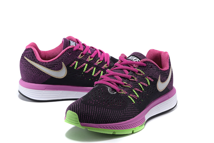 Women Nike Air Zoom Vomero 10 Black Pink White Shoes