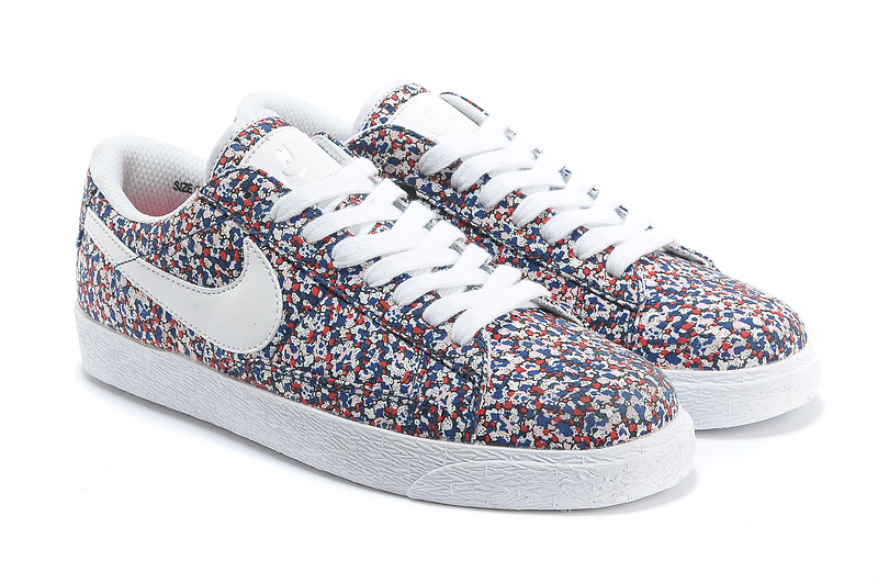 Women Nike Blazer 1 Low Flower Print Shoes