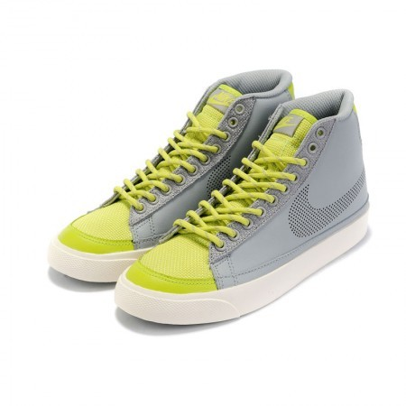 Women Nike Blazer 2 High Yellow Green Shoes