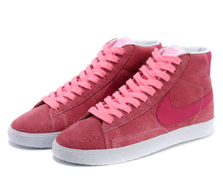 Women Nike Blazer High Pink Shoes