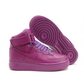 Women Nike Dunk High Purple Shoes
