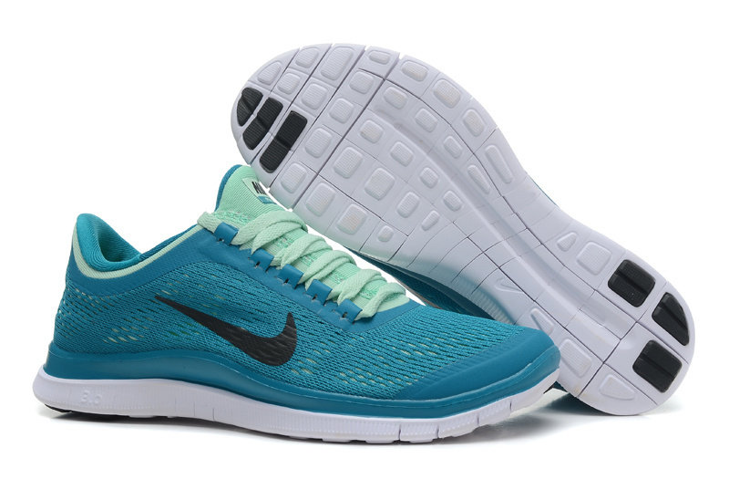 Women Nike Free 3.0 V5 Green Running Shoes