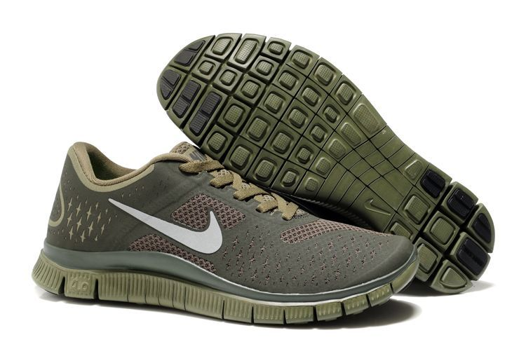 Women Nike Free 4.0 V2 Coffe Running Shoes