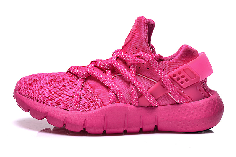 Women Nike Huarache 2 All Pink Shoes